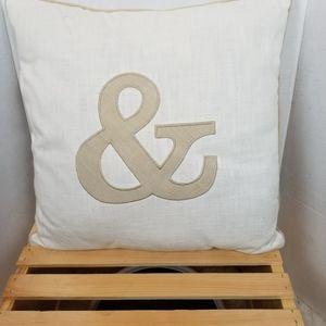 Accent pillow &